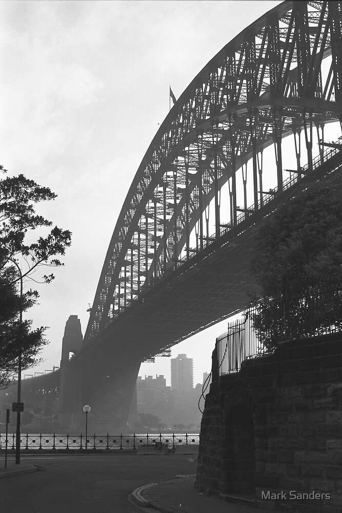 Under the Sydney Harbour Bridge by Mark Sanders