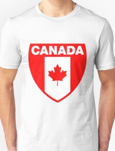 Canada Flag and Shield Unisex T-Shirt