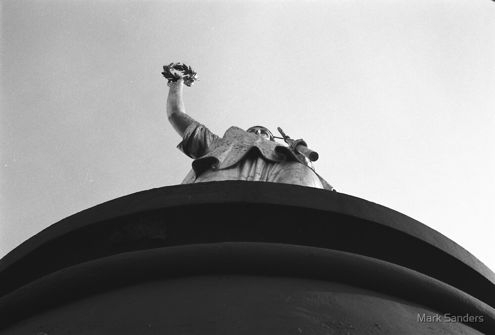 Berlin Victory Column Statue by Mark Sanders