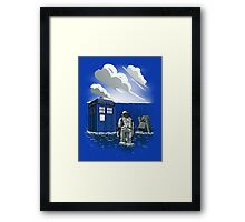 Dr. Interstellar Framed Print