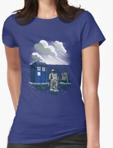 Dr. Interstellar Womens Fitted T-Shirt