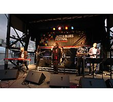 Uncle Jed on stage, Darling Harbour 2010 Photographic Print