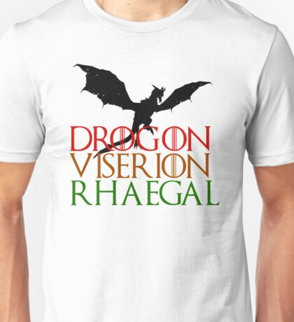 Game of Thrones: Dragons Unisex T-Shirt