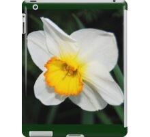 Daffodil with a Touch of Orange iPad Case/Skin