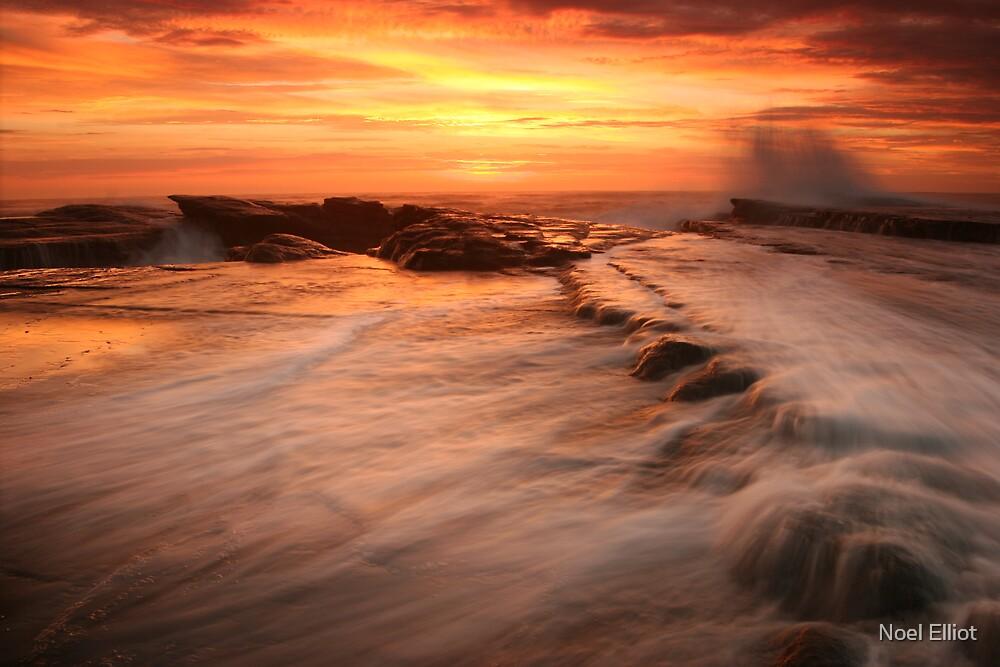 Sunrise Culburra Beach by Noel Elliot
