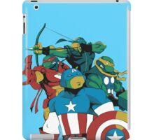 Turtles Avengers iPad Case/Skin