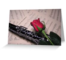 American Music Greeting Card