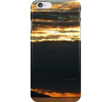 november's sunset III - puesta del sol en noviembre iPhone Case/Skin