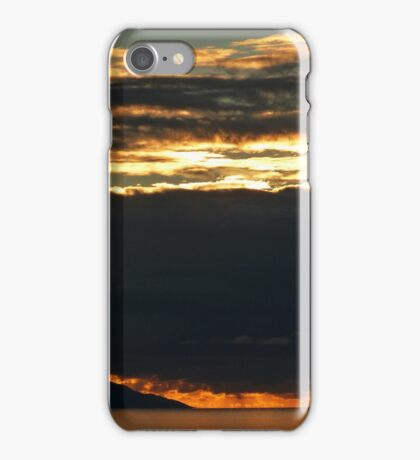 november's sunset III - puesta del sol en noviembre iPhone Case/Skin
