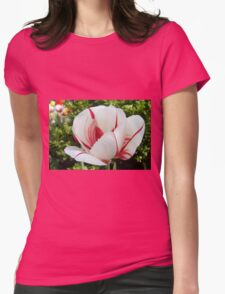 Peppermint Tulip Womens Fitted T-Shirt