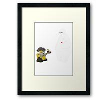 Eva? Framed Print