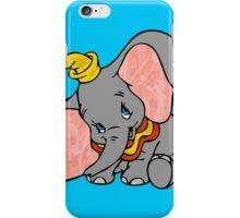 Splattered Dumbo iPhone Case/Skin