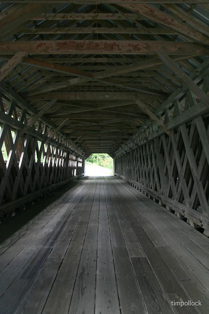 Covered Bridge New Hampshire by timpollock