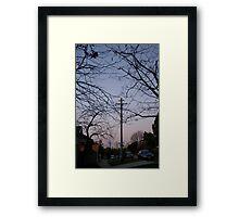 moon full Framed Print