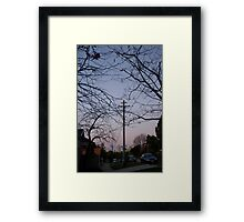 moon full Framed Print