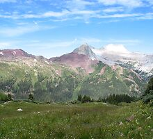 Maroon Bells by Chauncey