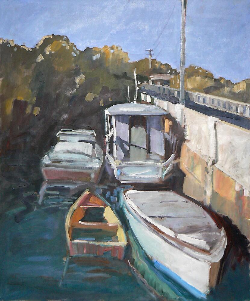 Wynnum Creek High Tide by Paul  Milburn