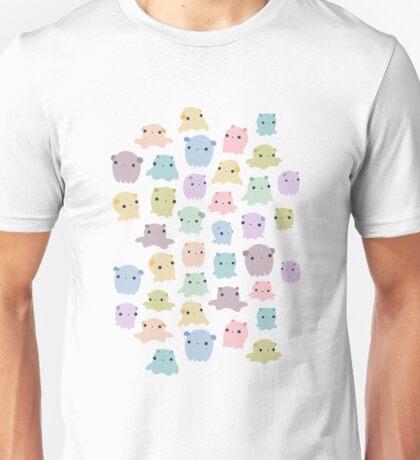 Colourful dumbo octopus pattern Unisex T-Shirt