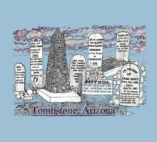 Boot Hill in Tombstone, Arizona Kids Clothes