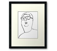 Vector Macro Framed Print