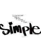 Simple by sallystar