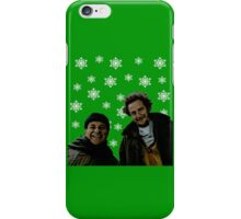 Alone Christmas iPhone Case/Skin