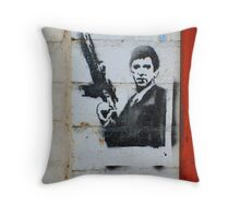 Tony Montana Throw Pillow