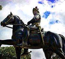 Spanish Conquistador by Al Bourassa