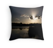 LILYDALE LAKE Throw Pillow