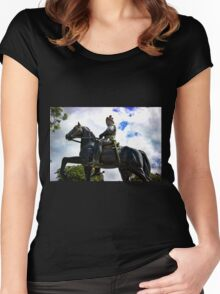Spanish Conquistador Women's Fitted Scoop T-Shirt