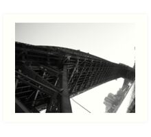 Low angle shot of Sydney Harbour Bridge, 2006 Art Print