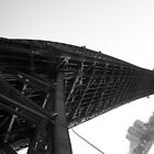 Low angle shot of Sydney Harbour Bridge, 2006 by Jese Lee