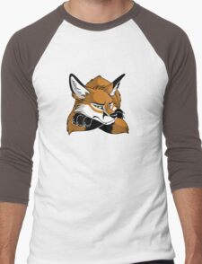 STUCK - Red Fox Men's Baseball ¾ T-Shirt