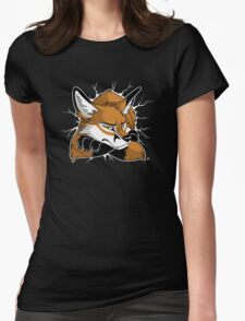 STUCK - Red Fox Womens Fitted T-Shirt