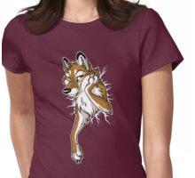 STUCK Wolf - Caramel Womens Fitted T-Shirt