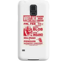 The Revolting Blob Wrestling Poster Samsung Galaxy Case/Skin