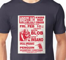 The Revolting Blob Wrestling Poster Unisex T-Shirt