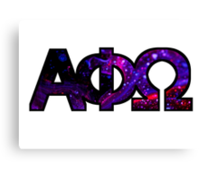 APO Galaxy Canvas Print