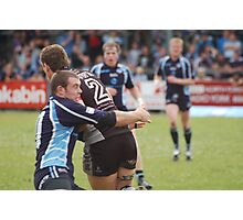 Rugby Match Photographic Print