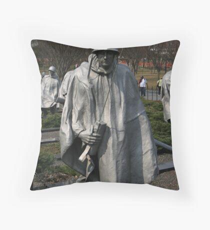 Koriean Memorial Throw Pillow