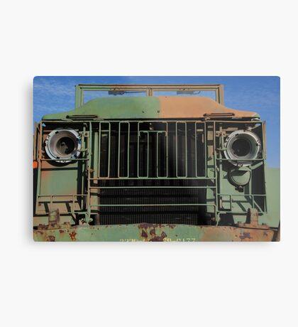 Army Truck Metal Print