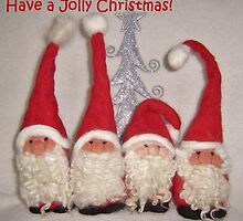 Christmas Gnomes  from Teddy Bear Orphans by Penny Bonser