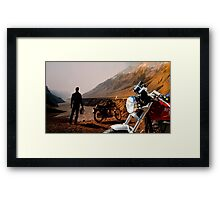 BEING IN The Movie Framed Print