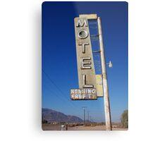 Bagdad Motel Metal Print