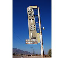 Bagdad Motel Photographic Print