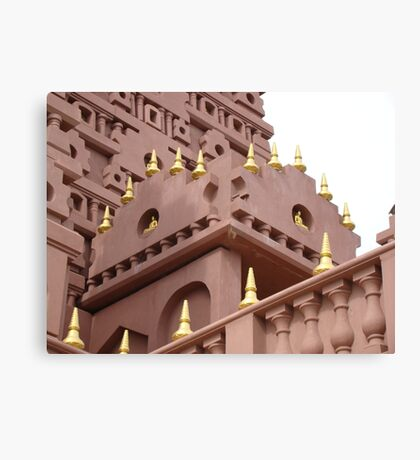 Buddhist Structure Canvas Print