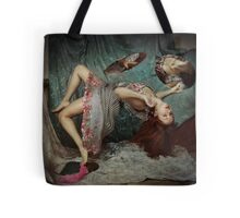 Gravity is a lie Tote Bag