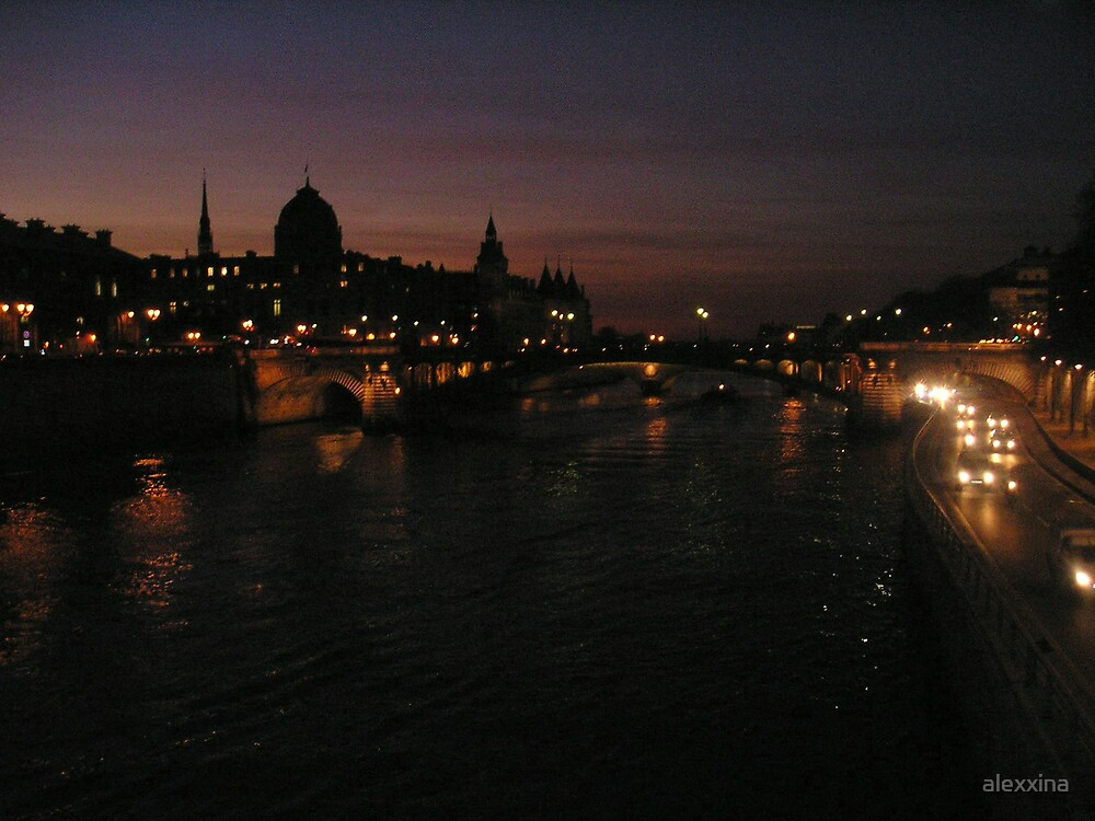 Paris at Night by alexxina