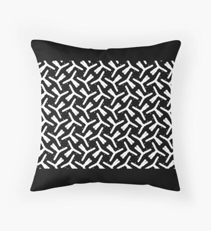 FREE FORM GEOMETRIC DESIGN  Throw Pillow