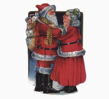 To Grandma and Granded Mr and Mrs Claus Christmas Card Kids Clothes